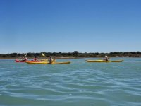 kayaking excursion in cadiz