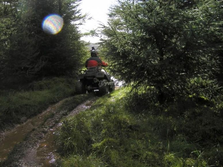 Los caminos del marjal de Gandía recorridos en quad