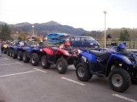 La nostra flotta di quad