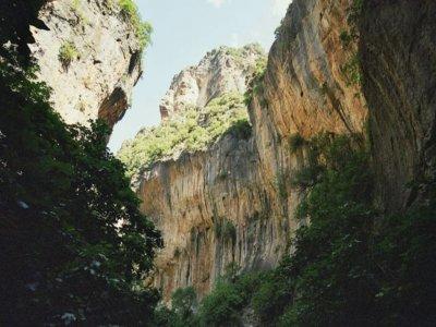下降峡谷Garganta Verde中等水平6小时