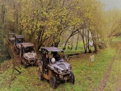 Ruta privada en buggy biplaza por Riotorto 1 hora