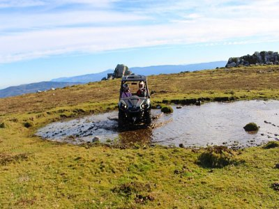 Ruta privada en buggy biplaza por Riotorto 4 horas