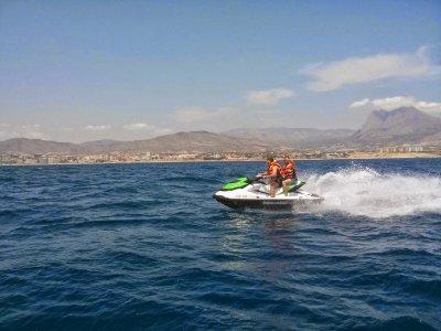 Alquiler moto de agua en Santa Ponsa 20 minutos