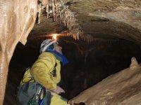 Illuminazione delle piccole stalattiti