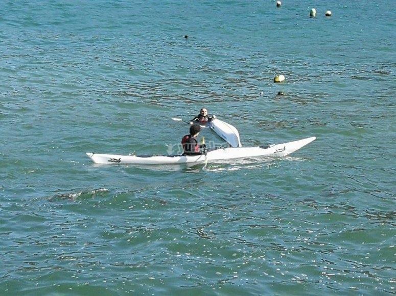 Kayak en Laracha