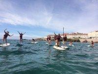 Alquila material de paddle surf en Caión 90 min