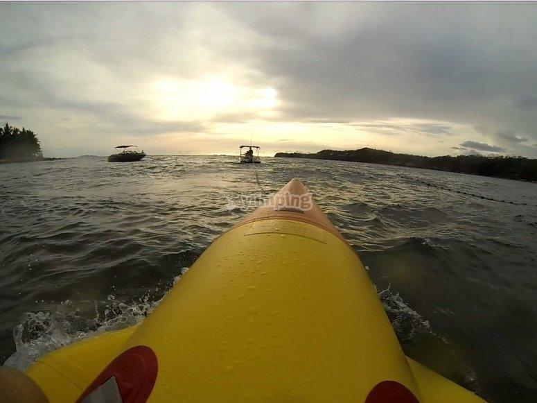 Banana boat La Coruña