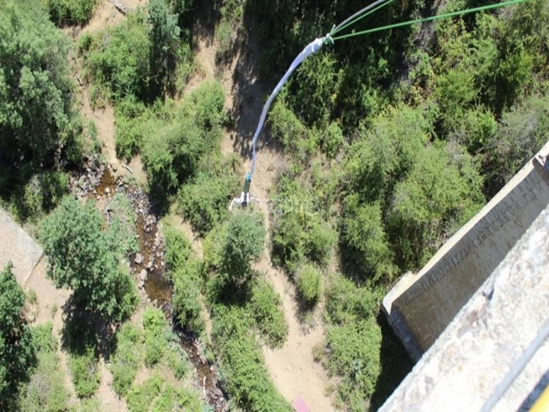 Bungee in Buitrago