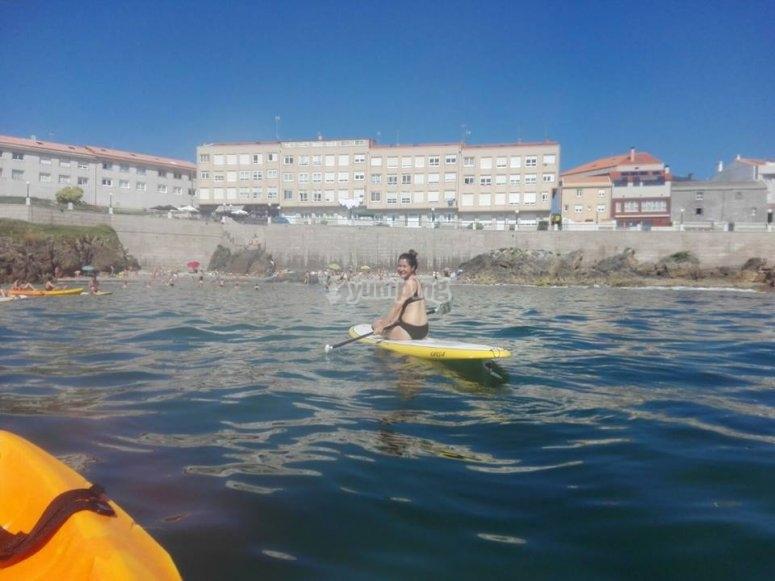 SUP en en La Coruña
