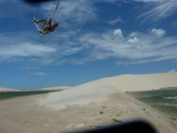 Jumping the dunes in Brazil
