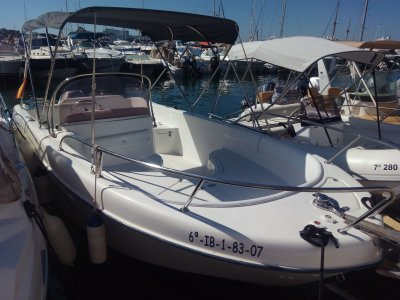 Boat rental and water activities 1 day in Ibiza