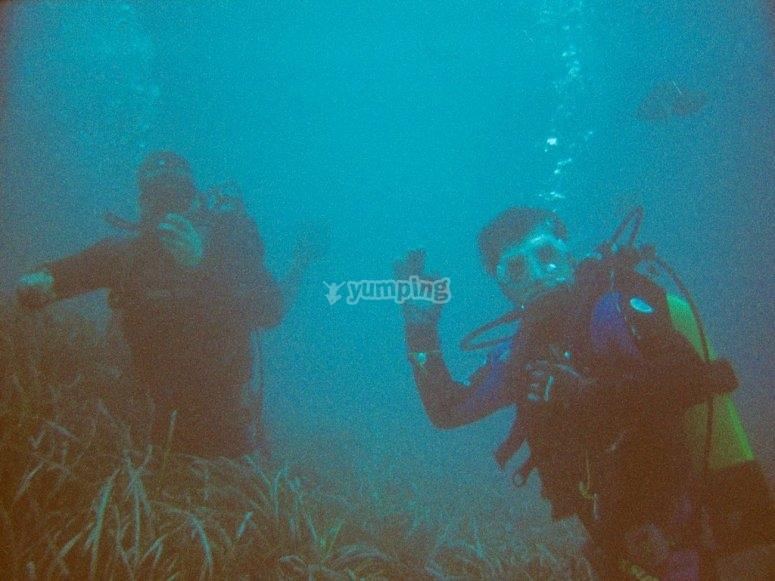 潜水教练巴伦西亚的洗礼