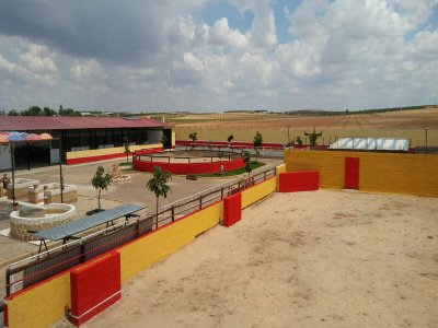 Sessione Capea e paintball a Tembleque
