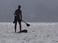 Travesía de paddle surf puerto La Marina 1 hora