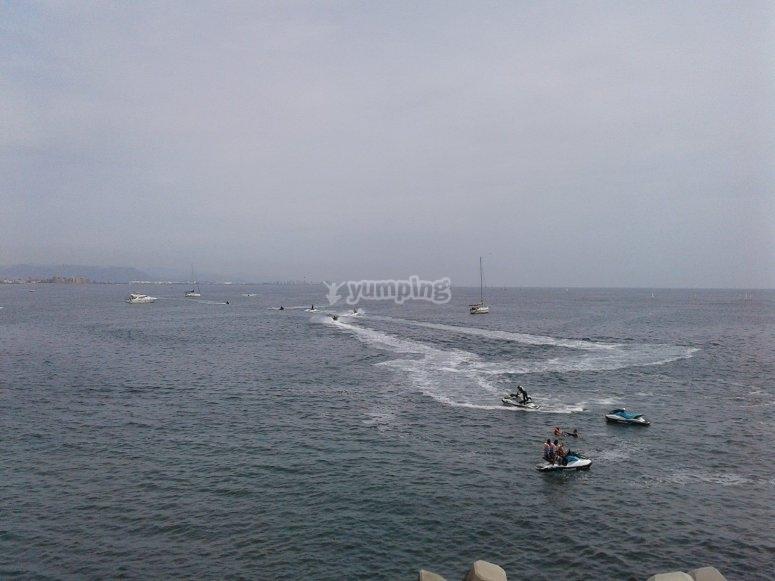 Excursión jetski Gandía 30 minutos