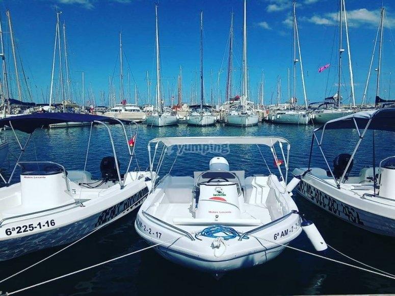 Alquiler barco sin título en Valencia
