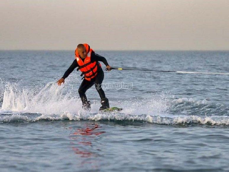 Wakeboarding class a Santander