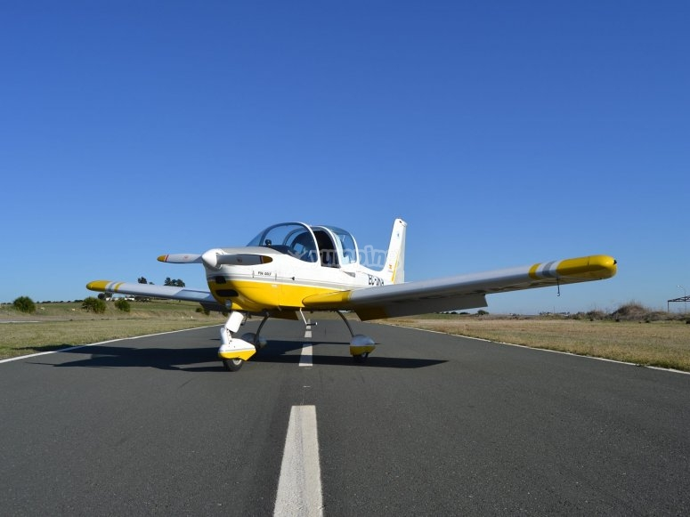 Paseo en avioneta en Guillena