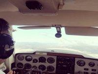 Pilot a light aircraft in Sabadell