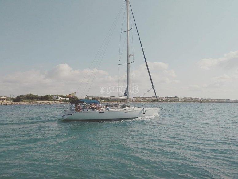 Anchoring in Cabrera island