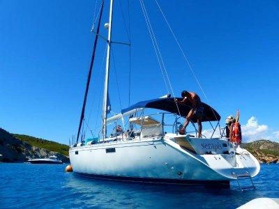 Travesía en velero playas vírgenes Mallorca 1 día