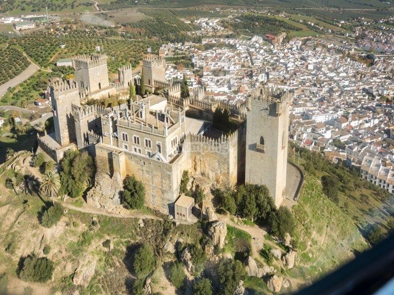 Paseo en autogiro Castillo de Almodóvar