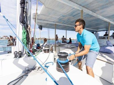 Paseo en Catamarán por la Bahía de Palma 4h