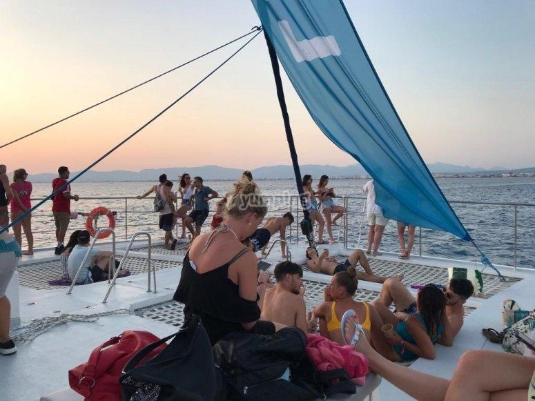Tour en catamarán por la Bahía de Palma