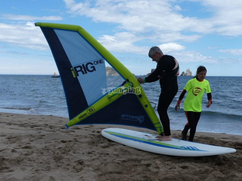 Windsurfing course in Estartit