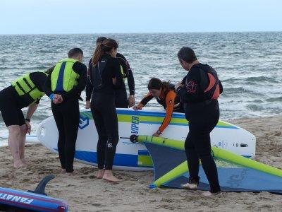 Bautismo de windsurf, en l'Estartit (2h)