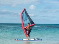 Windsurfing baptism in Estartit 1 hour 30 min