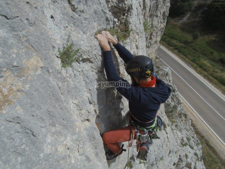 Imparare a scalare a Burgos
