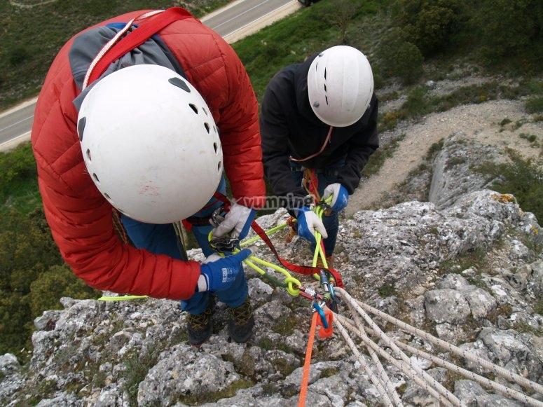 Giornata di arrampicata a Burgos