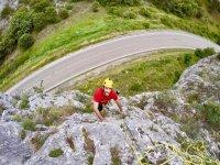 Corso di iniziazione arrampicata su roccia Villaverde 12h