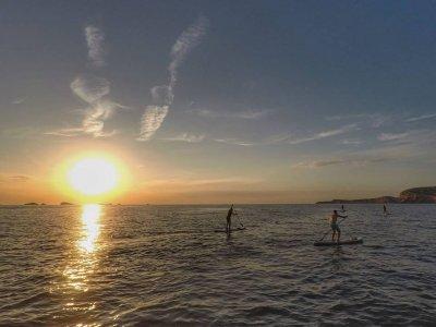 Paddle surf tour along coast of Ibiza 2 - 3 h