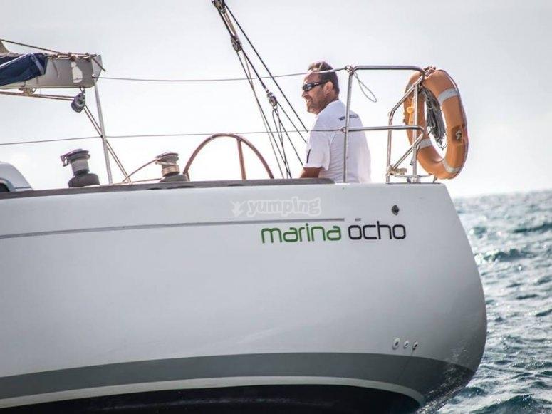 En el Marina Ocho