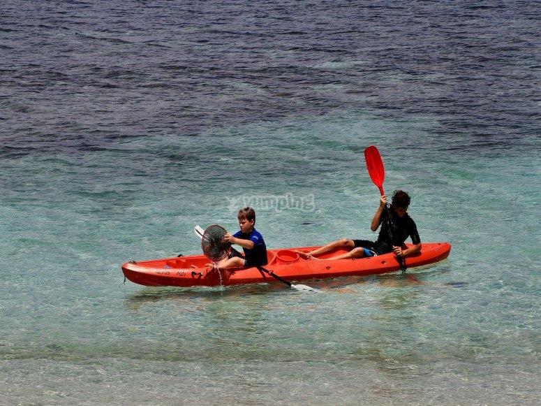 Alquilar kayak Santa Pola 2 horas