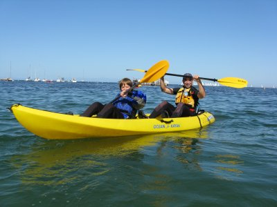 Kayak rental in playa Lisa Santa Pola 2 hours