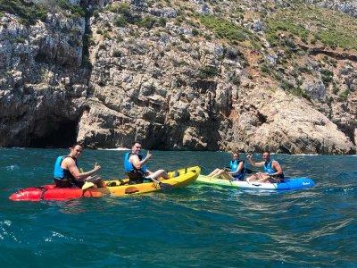 Tour in kayak Las Rotas 1 ora