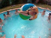 Campamento urbano piscina niños