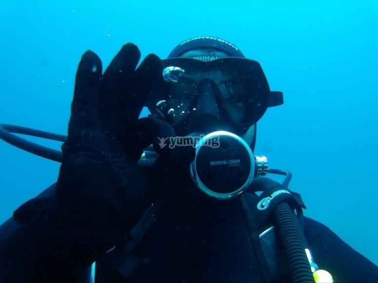 马拉加水域潜水