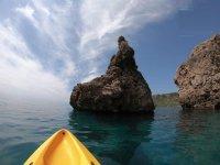 Viaje en kayak por la playa de Burriana