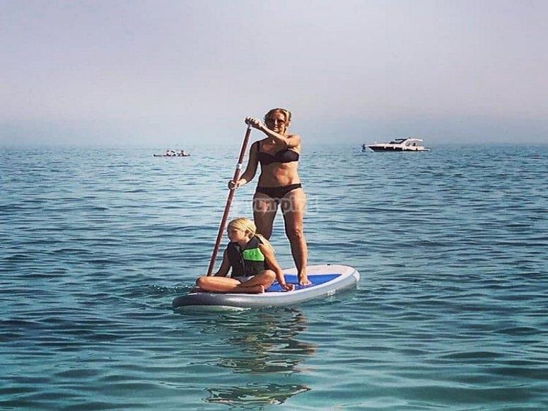 Paddle surf en Playa Burriana