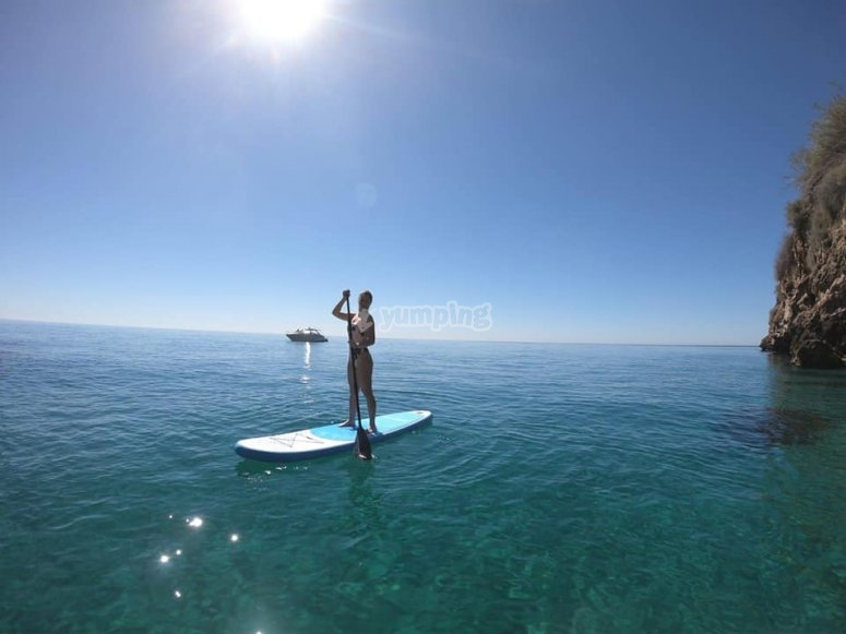 Conoce rincones andaluces practicando paddle surf