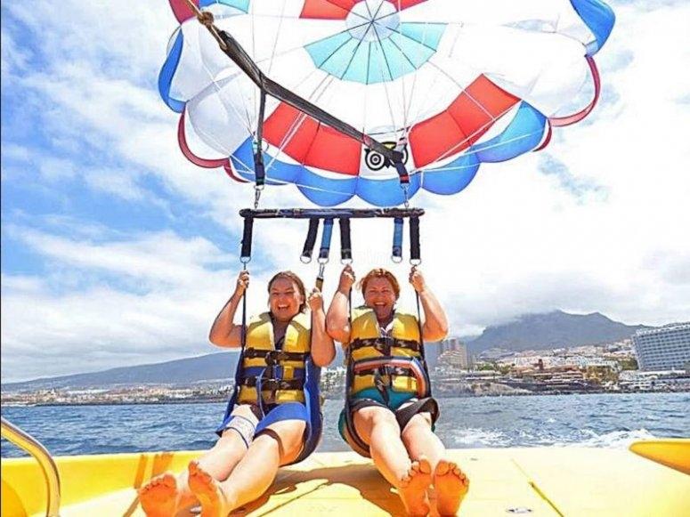 Parasailing per coppie a Tenerife