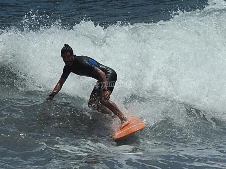 Alquiler diferentes tablas de surf
