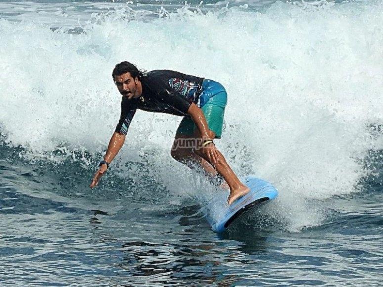Alquiler tabla surf todas las edades
