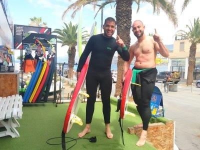 Alquilar tabla de surf en Puerto de la Cruz 2h