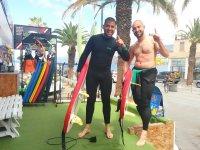 Centro de surf en playa Martiánez