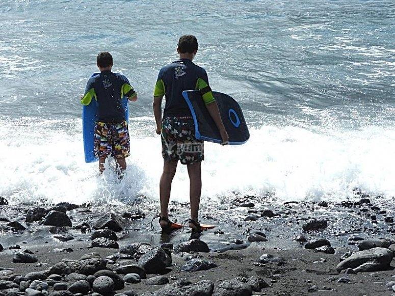 Alquiler tabla bodyboard Tenerife